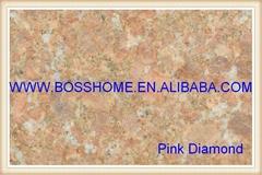 Cube Granite Pink Diamond Paving Tile