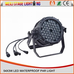 54pcs LED led Waterproof par light