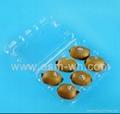 8 cell kiwi-fruit disposable plastic fruit  clamshell  2