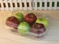 single-used  plastic transparent  food
