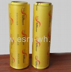 Disposbale plastic wrap PVC film cling