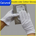 Double side cotton gloves/Double side cotton work gloves  3