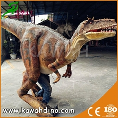 OEM animatronic realistic costume dinosaur for hot selling