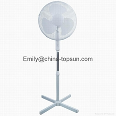 Quality Electric Plastic 16 inch 50W Plastic Stand Pedestal Fan