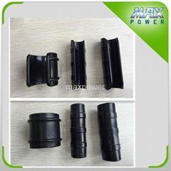 Greenhouse pipe film clip fastening