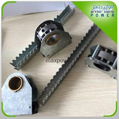 window ventilation spare parts rack and parts