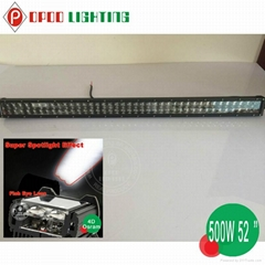 "2015 New Novelty Product 52"" 500W Double Row Osram Led Light Bar"