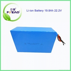 Deep cycle 24v 19.8Ah rechargeable lithium ion battery pack