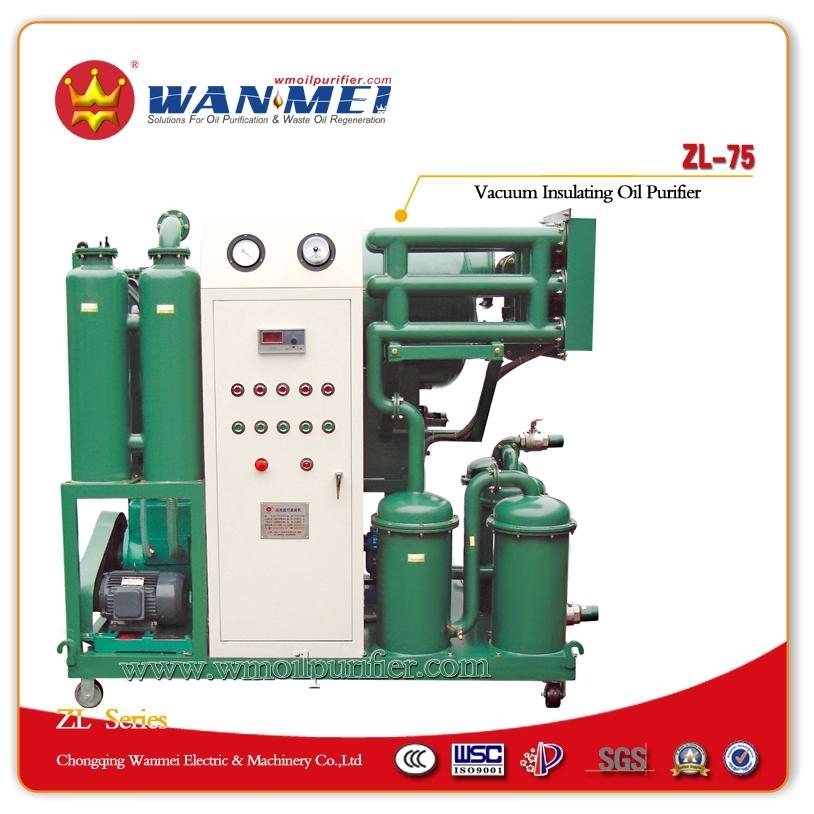 ZL Series Single-Stage Vacuum Oil Purifier 1