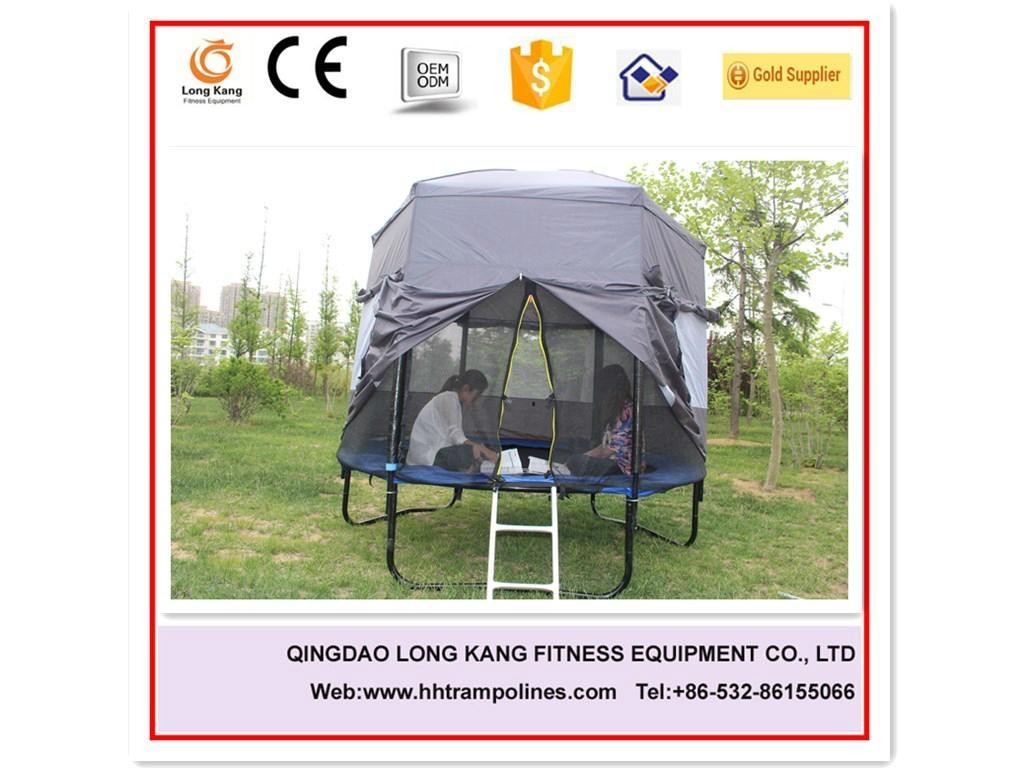 kids indoor trampoline bed fashion trampoline park with safety net 4