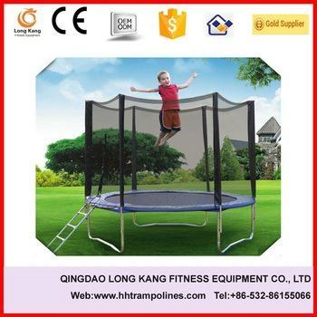 Bungee Trampoline Playground Equipment Indoor Trampoline with net for Sale 1