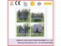 Bungee Trampoline Playground Equipment Indoor Trampoline with net for Sale 2