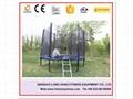 Bungee Trampoline Playground Equipment Indoor Trampoline with net for Sale 3