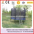 Bungee Trampoline Playground Equipment Indoor Trampoline with net for Sale 5