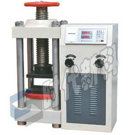 油井水泥抗壓強度試壓機 3