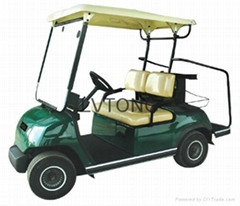 Battery powered double seats go kart (LT-A2)