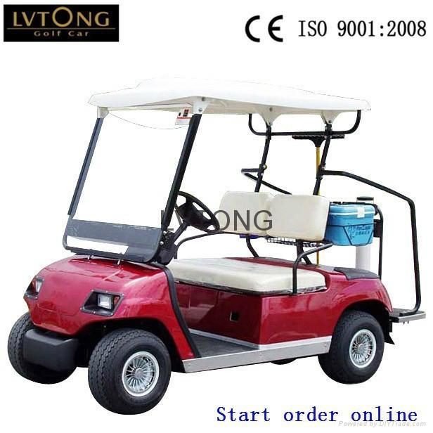 Battery powered double seats go kart (LT-A2) 3