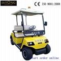 Battery powered double seats go kart (LT-A2) 4