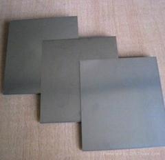 Polishing tungsten steel plate
