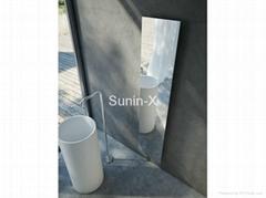 bathroom radiator with auto working remote control