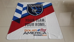 Stadium blanket for promotion use