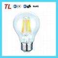 Best hot sale A60 6w new led filament