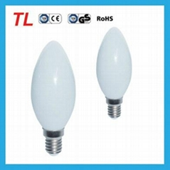 led candle light C30 5w E14 warm white candle light led bulb