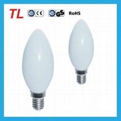 led candle light C30 5w E14 warm white candle light led bulb