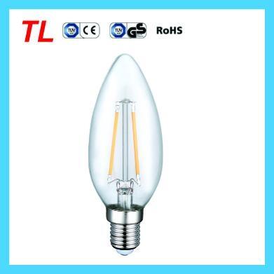 Factory Price 2.2w led filament candle light C35 LED bulb 1