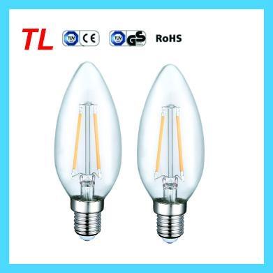 Factory Price 2.2w led filament candle light C35 LED bulb 2
