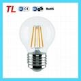 Best quality G45 led filament light 4w