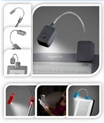 Booklight Led Ebook Light Mini Flexible Bright clip-on Book Reader Reading Desk