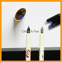 Advertising Logo Customized Plastic cheap fountain pen