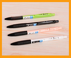 Simple and new design promotional plastic ball point pen