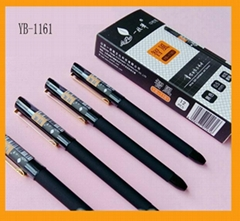 Factory price promotional business cap-off promotional gel ink pen