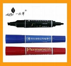 Double head Marker pen glass board markers desktop marker pen