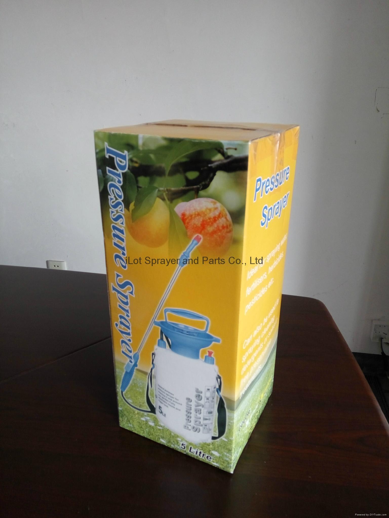 5L Garden Pressure Sprayer with funnel 2