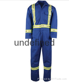 Custom Safety Protective Work Clothes High Visibility Coverall 1