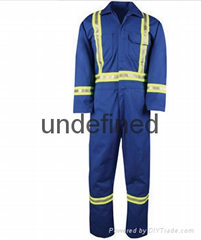 Custom Safety Protective Work Clothes High Visibility Coverall