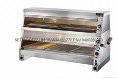 晋豪BWG-02 1.5米陈列保温柜 保温展示柜