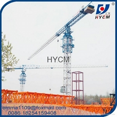 PT5510 6tons Top less Tower Crane lift machine