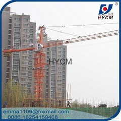 Fixed Tower cranes qtz63 6 tons cranes for sale in dubai