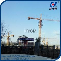 Fixed Tower cranes qtz63 6 tons cranes sale in dubai