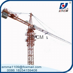 Small Top Slewing QTZ25 Building Tower Crane 2.5t max.load capacity