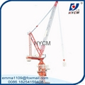 model of D120 luffing jib tower crane