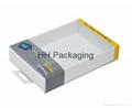 Clear Soft Crease Plastic Box For Galaxy Tab 1