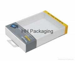 Clear Soft Crease Plastic Box For Galaxy Tab