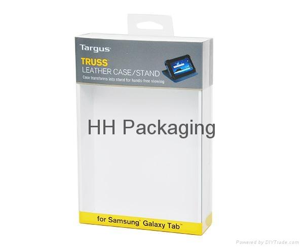 Clear Soft Crease Plastic Box For Galaxy Tab 2
