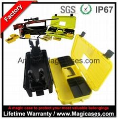 Portable MTM Shooting Range Box Tactical Bullet Plastic Tool Box Gun Case