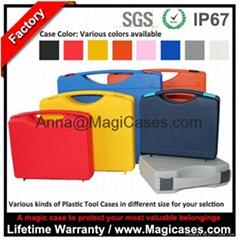 China Waterproof Hand Tool Box Plastic Tool Case